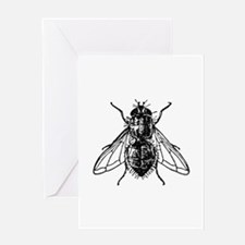 Peterm housefly Greeting Cards
