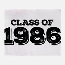 Class of 1986 Throw Blanket