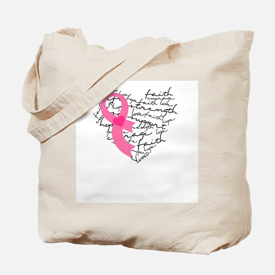 Heart of Words Tote Bag
