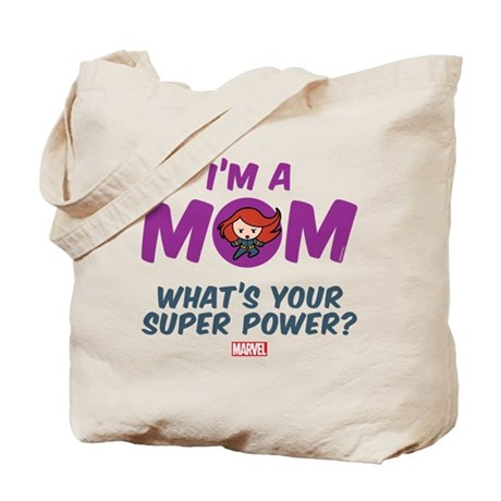 Mom Black Widow Tote Bag
