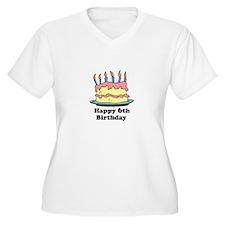 Happy 6th Birthday T-Shirt