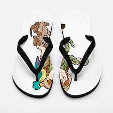 Zoo Keeper Flip Flops