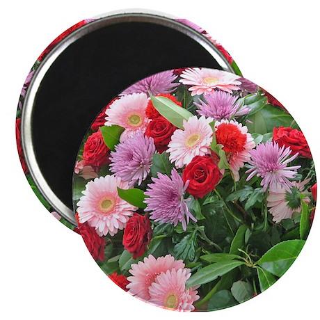 Paris Flowers Magnet