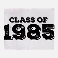 Class of 1985 Throw Blanket