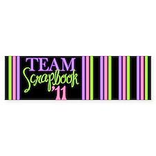 Team Scrapbook '11 Bumper Sticker