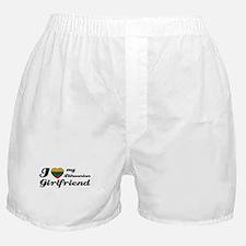 I love my Lithuanian Girlfriend Boxer Shorts