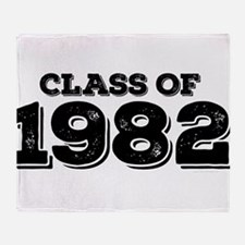 Class of 1982 Throw Blanket