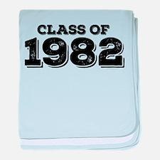 Class of 1982 baby blanket