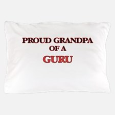 Proud Grandpa of a Guru Pillow Case