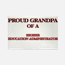 Proud Grandpa of a Higher Education Admini Magnets