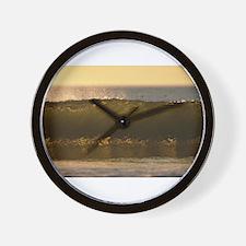water waves Wall Clock