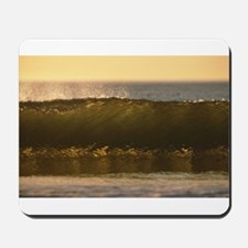 water waves Mousepad
