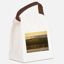 water waves Canvas Lunch Bag