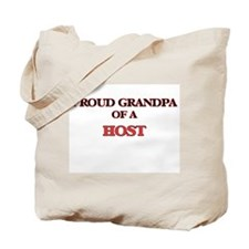 Proud Grandpa of a Host Tote Bag