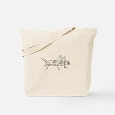 Grasshopper silhouette Tote Bag