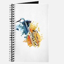 Saxophone Painting Journal