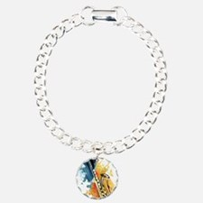 Saxophone Painting Bracelet