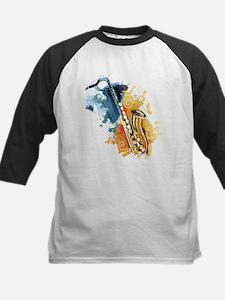Saxophone Painting Baseball Jersey