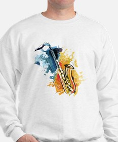 Saxophone Painting Jumper