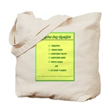 Transfer Day Checklist Tote Bag