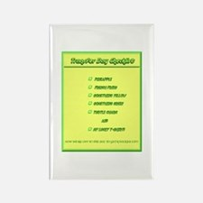 Transfer Day Checklist Rectangle Magnet