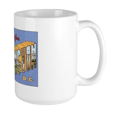 Washington D.C. Large Mug