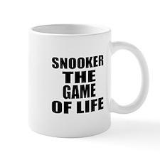 Snooker The Game Of Life Small Small Mug