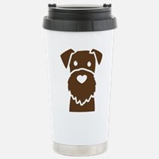 Funny Wire fox terrier Travel Mug