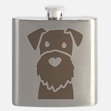 Cute Rescue dad Flask