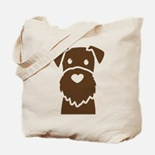 Cute Wire fox terrier breed Tote Bag