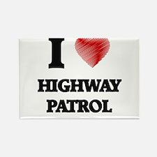 I love Highway Patrol Magnets