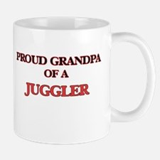 Proud Grandpa of a Juggler Mugs