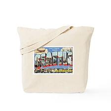 Seattle Postcard Tote Bag