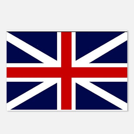 British Flag Postcards (Package of 8)