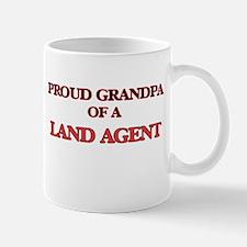 Proud Grandpa of a Land Agent Mugs