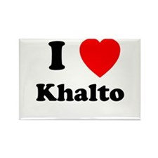 I Heart Khalto Rectangle Magnet