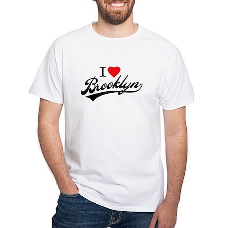 I LOVE BKLYN White T-Shirt