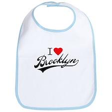 I LOVE BKLYN Bib