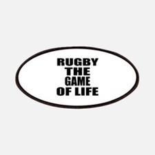 Rugby The Game Of Life Patch