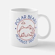 Polar Bears Against Trump Mug