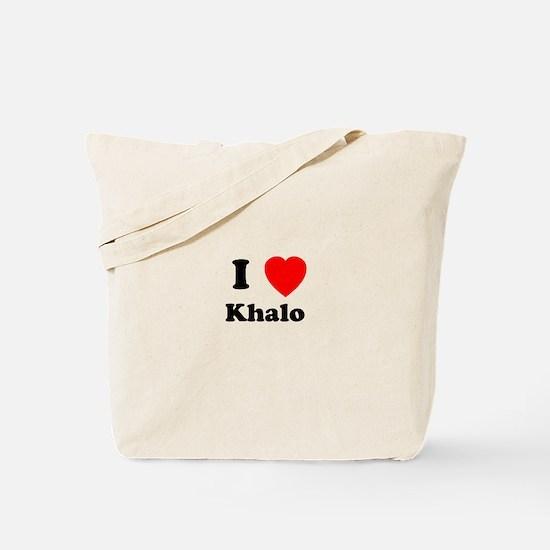 I Heart Khalo Tote Bag