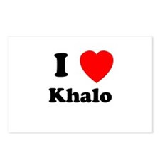 I Heart Khalo Postcards (Package of 8)