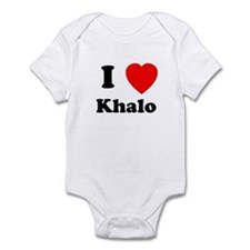 I Heart Khalo Infant Bodysuit