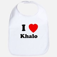 I Heart Khalo Bib