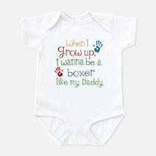 Boxer Like Daddy Infant Bodysuit
