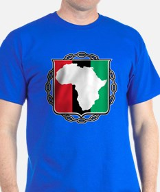 Africa, Flag and Chain T-Shirt