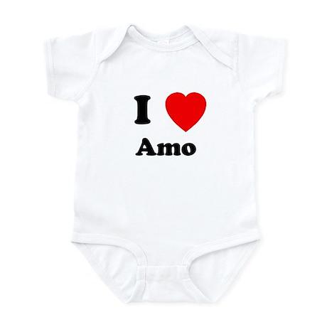 I heart Amo Infant Bodysuit