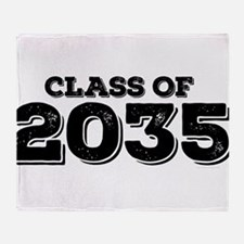 Class of 2035 Throw Blanket