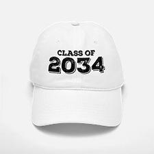 Class of 2034 Baseball Baseball Baseball Cap
