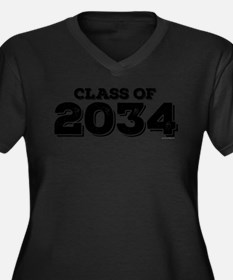 Class of 2034 Plus Size T-Shirt